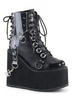 74085f315 Demonia Swing 115 Gothic Platform Boot