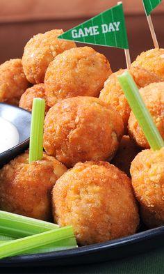 "Ritz Spicy Chicken ""Meatballs"""