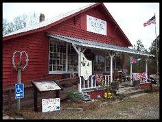 the little red barn, barnwell, sc