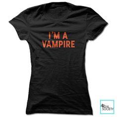 I'm a Vampire | Halloween | Holiday | Women's T-shirt