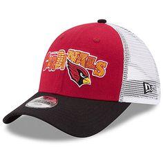 meet f0ef6 811a6 Arizona Cardinals New Era Preschool Trucker Joy 9FORTY Adjustable Hat -  Cardinal Black, Your