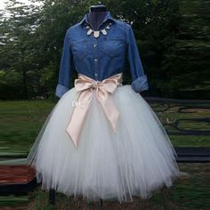 2016 White Ball Gown Tutu Party Skirts Real Image Custom Made Ruched Tulle Plus Size Women Skirts For Wedding Party Casual Skirt Bow 2016 White [. Tutu Party, Party Skirt, Dress Party, Party Dresses, Prom Party, Diy Party, Party Ideas, Wedding Parties, Birthday Dresses