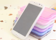 TPU material Cell Phone case,Various colors, just like summer candy, enjoy a goodmood :)
