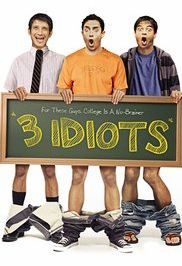 Free download Bollywood Movies - 3 Idiots Poster