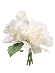 Silk gardenia corsage $12