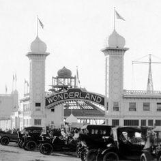 Wonderland Park, Ocean Beach: 1913.