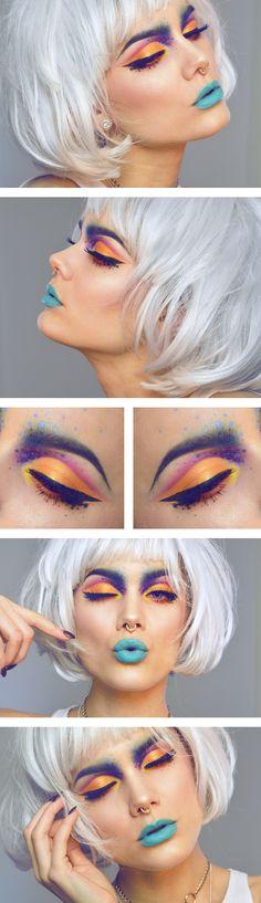 Jag har använt/I've used Morphe brushes multi color matte palette Morphe brushes…