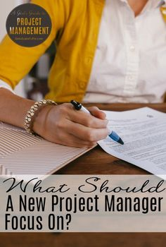 advice for new project managers