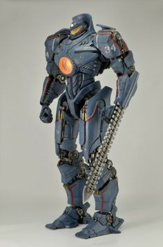 """I love Pacific Rim, I love super robots, and I love collectible toys lining my work desk. I can't wait to buy the Pacific Rim 18"""" Gipsy Danger Action Figure from NECAOnline.com"""