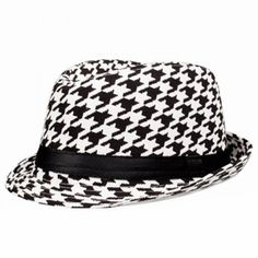 11658ffa8d8 Classical Grid Ribbon Embellished Fedora Hat For Women