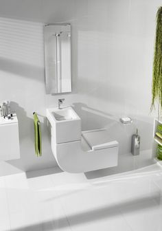 Laufen/Rocca W+W design toilet/fonteincombinatie http://www.dicksbv.nl/