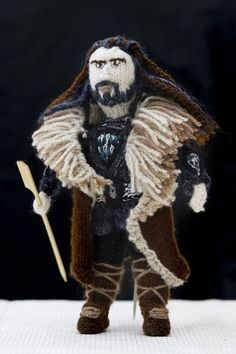 The Lord of the Rings Knitted Characters by Denise Salway » Design You Trust. Design, Culture & Society.