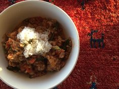 Sausage and Spelt Berry Risotto