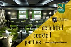 """Kick off this weekend with us"" Njoy the parties @ #QualityInnViha #TheBlackLoungeBar"