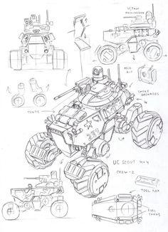 UC SCOUT vehicle by TugoDoomER on DeviantArt