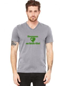everyone loves an irish girl V-Neck Tee