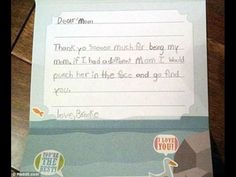 These 17 Hilarious Notes From Kids to Parents Will Make You Pee Your Pants - BrainJet.com