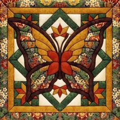 Fall Butterfly Quilt Magic