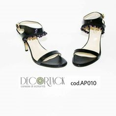 Pezzo unico misura39 #Sandalopelle tacco 9cm #pietraonice #pietraametista #calzatureartigianali #accessorimoda #fashion #modadonna  #Decortack #MadeinSicily #MadeinItaly Contatti: info@decortack.it - 3294198247