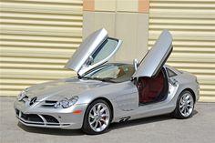 nice Countdown to Barrett-Jackson Palm Beach 2006 Mercedes-Benz SLR McLaren Mclaren Mercedes, Mercedes Benz Cars, Slr Mclaren, Daimler Benz, Hot Cars, Motor Car, Palm Beach, Dream Cars, Super Cars