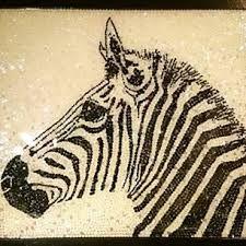 sequins zebra...