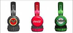 Custom Bottle Cap HeadPhones