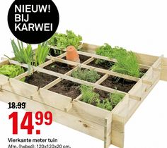 kweekset vierkante meter tuin hxbxd cm  folder aanbieding bij Karwei