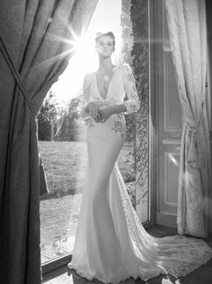 Take a look at the Inbal Dror wedding dress collection Full of sexy, beautiful, backless wedding dresses by the Israeli designer. Gorgeous Wedding Dress, Glamorous Wedding, Beautiful Dresses, Perfect Wedding, Bridal Musings, Bridal Wedding Dresses, Dream Wedding Dresses, Lace Wedding, Backless Wedding