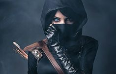 Nice thief cosplay