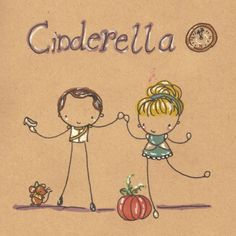 """style for invitations? Instead of Cinderella, """"Wedding"""" and replace pumpkin with cake?"""