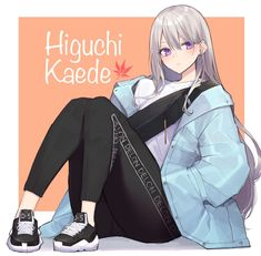 Romance, White Hair, Vocaloid, Art Girl, Anime Characters, Character Art, Anime Art, Old Things, Fan Art