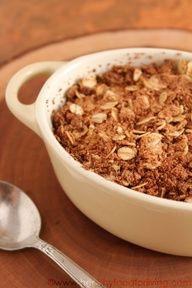 Apple crisp for one... great easy single serving dessert