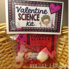 Valentine Science Fun! - Send-home-science kits for Valentine's Day