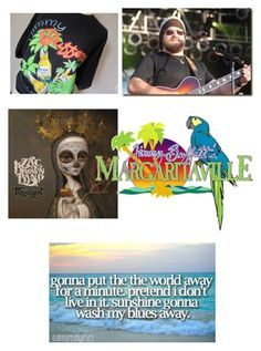"""Zac brown and Jimmy Buffett"" by beach2 on Polyvore featuring Margaritaville and beachaholics"