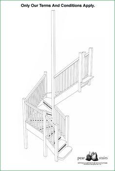 Knaphill Open Riser Staircase - staircase design.