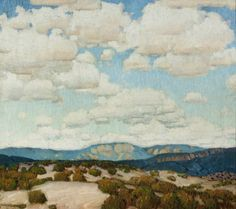 Higgins, Victor, 1884-1949: New Mexico Sky