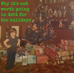 Books, Bargains, Blessings: Why It's Not Worth Going Into Debt for the Holidays