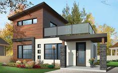 Casa de Dos Pisos con Terraza | Planos Gratis