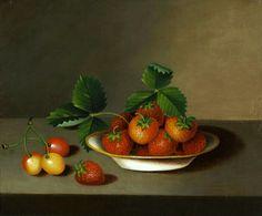 Margaretta Angelica Peale Strawberries and Cherries 19th century