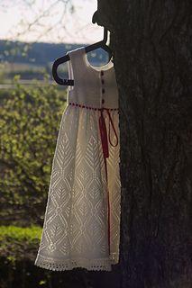 Ravelry: Laulu kuusesta pattern by Christa Becker Baby Cardigan Knitting Pattern Free, Knitting Patterns Free, Knit Patterns, Free Knitting, Baby Knitting, Free Pattern, Knit Dress, Dress Skirt, Lace Dress