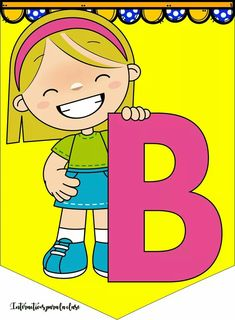 Cute Alphabet, Cute Letters, Letters And Numbers, Class Board Decoration, Birthday Charts, Teaching Letters, Holly Hobbie, Preschool Math, Activity Days