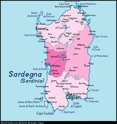 Sardinia Region Of Italy Map