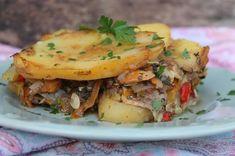Reteta culinara Musaca de post cu cartofi din Carte de bucate, Mancaruri cu legume si zarzavaturi. Cum sa faci Musaca de post cu cartofi