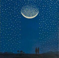 Catching falling stars.