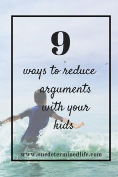 If your house is like mine, there are always arguments going on. Some between your children, but more often than not, most are between you and your child. And if you are like me, then you like to win those arguments. I often wonder if I am the cause of the argument. Sometimes I feel...Read More