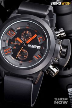 Stunning Men's Watches to Buy Online on BringWish. Free Worldwide Shipping. Shop Now! #sportswatches #watchesonline #watchesoftheday #watchlover #militarywatches