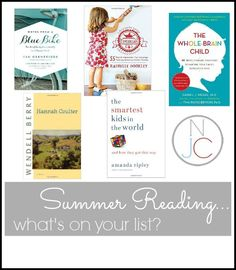 Awesome summer reads for the nerdy mom!  What's on your list?