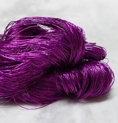 Gail DK-5 Small Scarf, Fingering Yarn, Metallic Yarn, Deep Brown, Khaki Green, Soft Furnishings, Deep Purple, Antique Gold, Knitwear