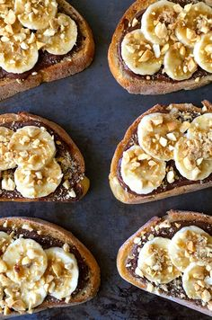 Bruschetta takes a turn on the sweet side with a 15-minute recipe for Banana and Nutella Dessert Bruschetta.