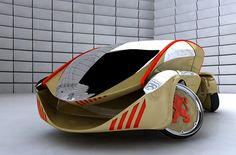 Peugeot Concept - Oh the French and their cars. Peugeot France, Psa Peugeot Citroen, Automobile, Audi, Flying Vehicles, Mens Toys, Futuristic Cars, Sweet Cars, Car Wheels
